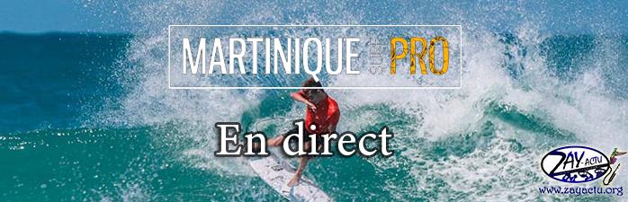 Suivez le Martinique Surf Pro en direct